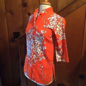 Vintage Hawaiian Jacket Top
